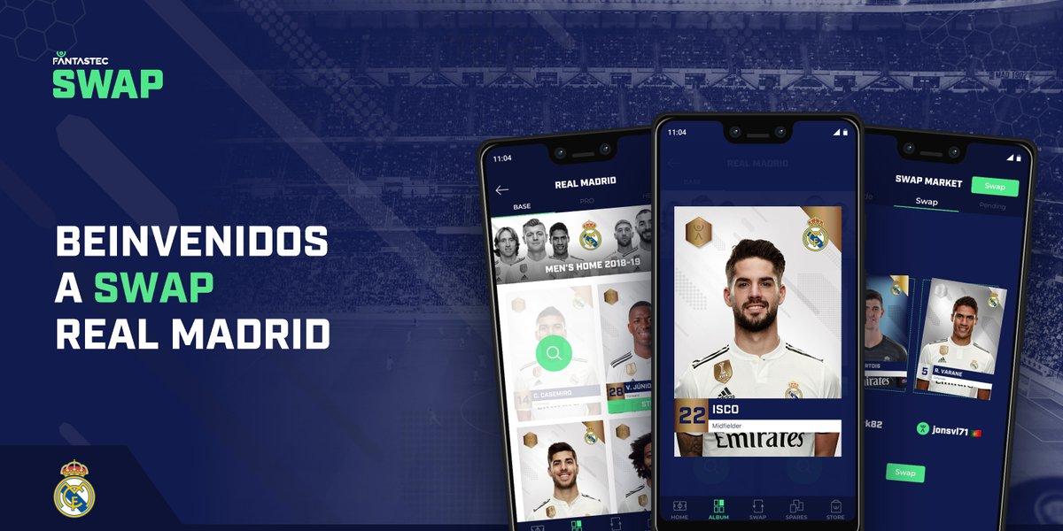 【サッカー】レアル・マドリード、ブロックチェーンベースのデジタルグッズプラットフォーム「Fantastec SWAP」と提携