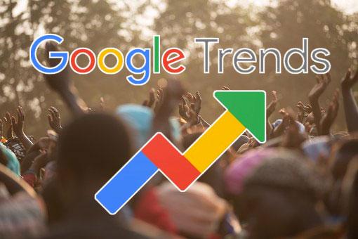 「Bitcoin」のGoogle検索数が過去1年で最高水準を記録|TOP3はアフリカ勢!