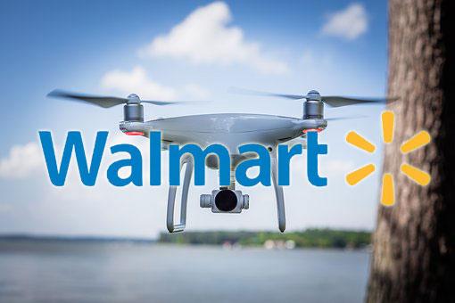 米Walmart、ブロックチェーン技術に基づいたドローン通信システムの特許申請!