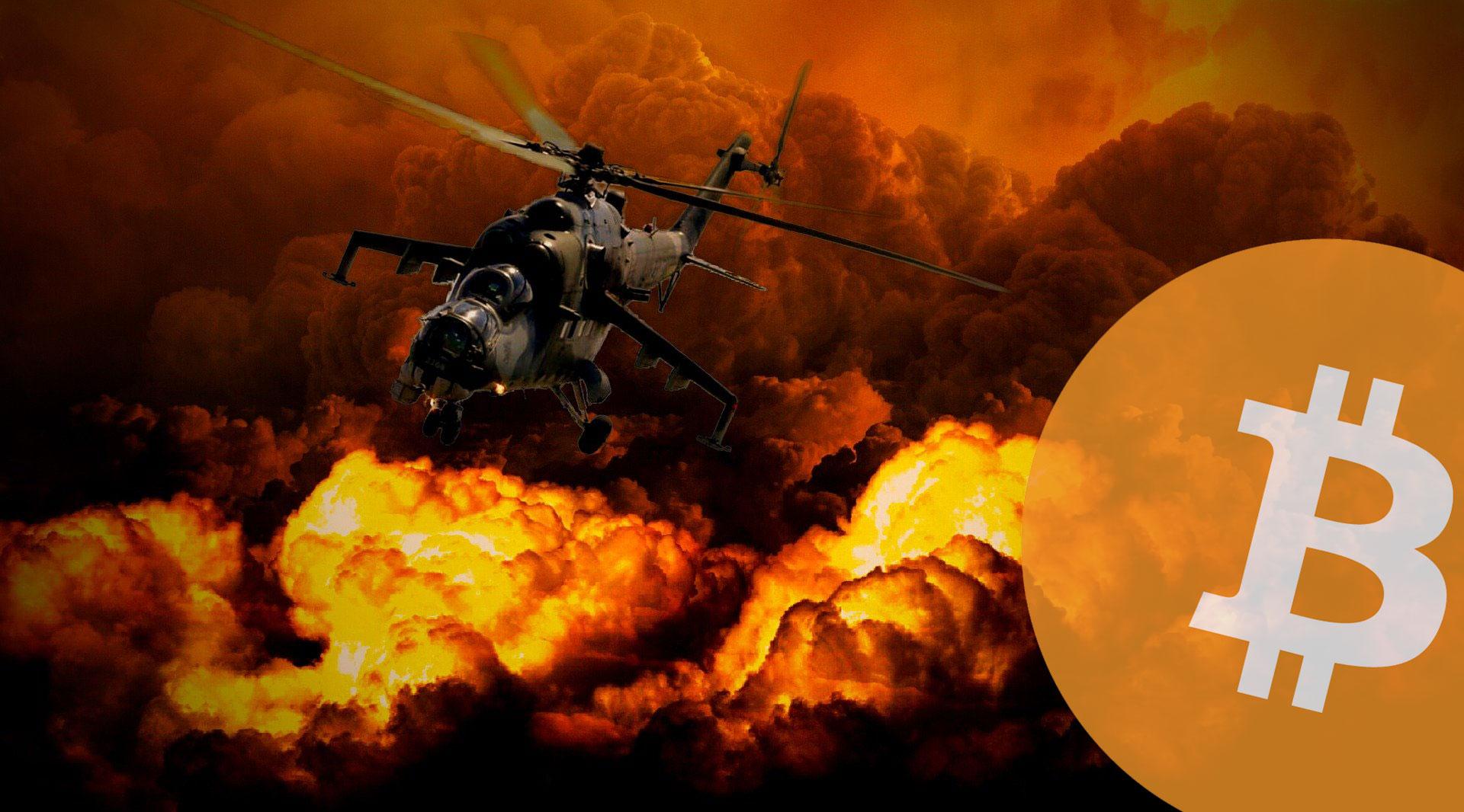 イランのミサイル攻撃後、ビットコイン(BTC)価格は8,400ドルに達する!