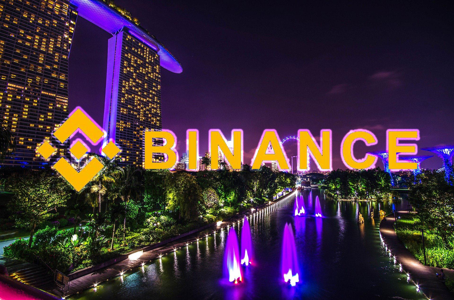仮想通貨取引所Binanceがシンガポールでの営業許可を申請