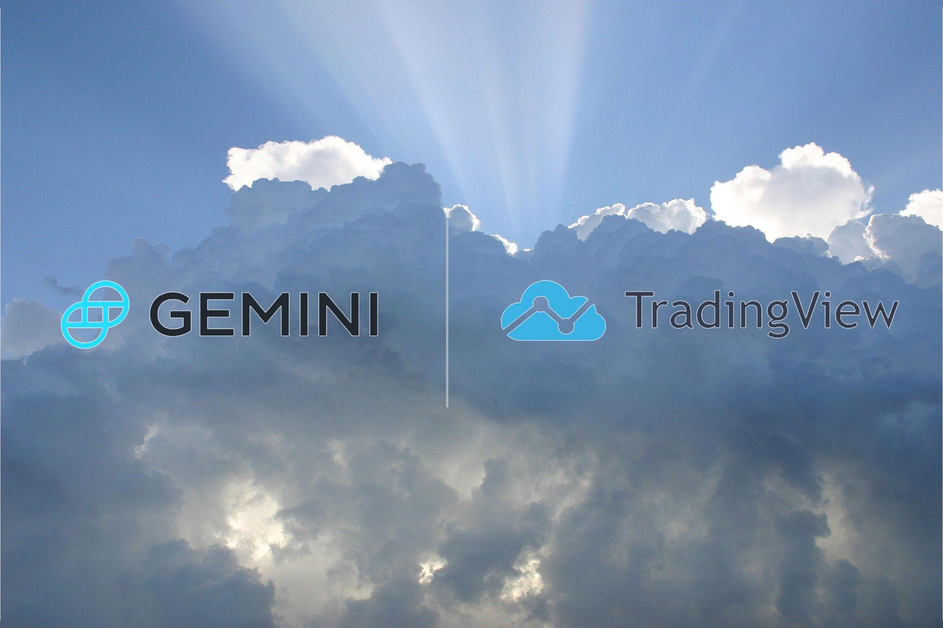 米仮想通貨取引所GeminiがTradingViewと連動!