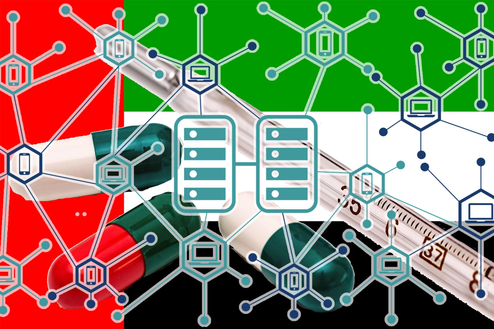 UAE保健予防省、医療データベースのブロックチェーンプラットフォームを発表!