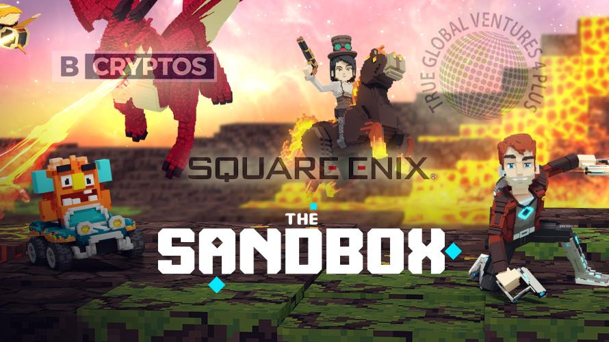 スクウェア・エニックスなどがブロックチェーンゲーム「ザ・サンドボックス」に200万ドル出資!