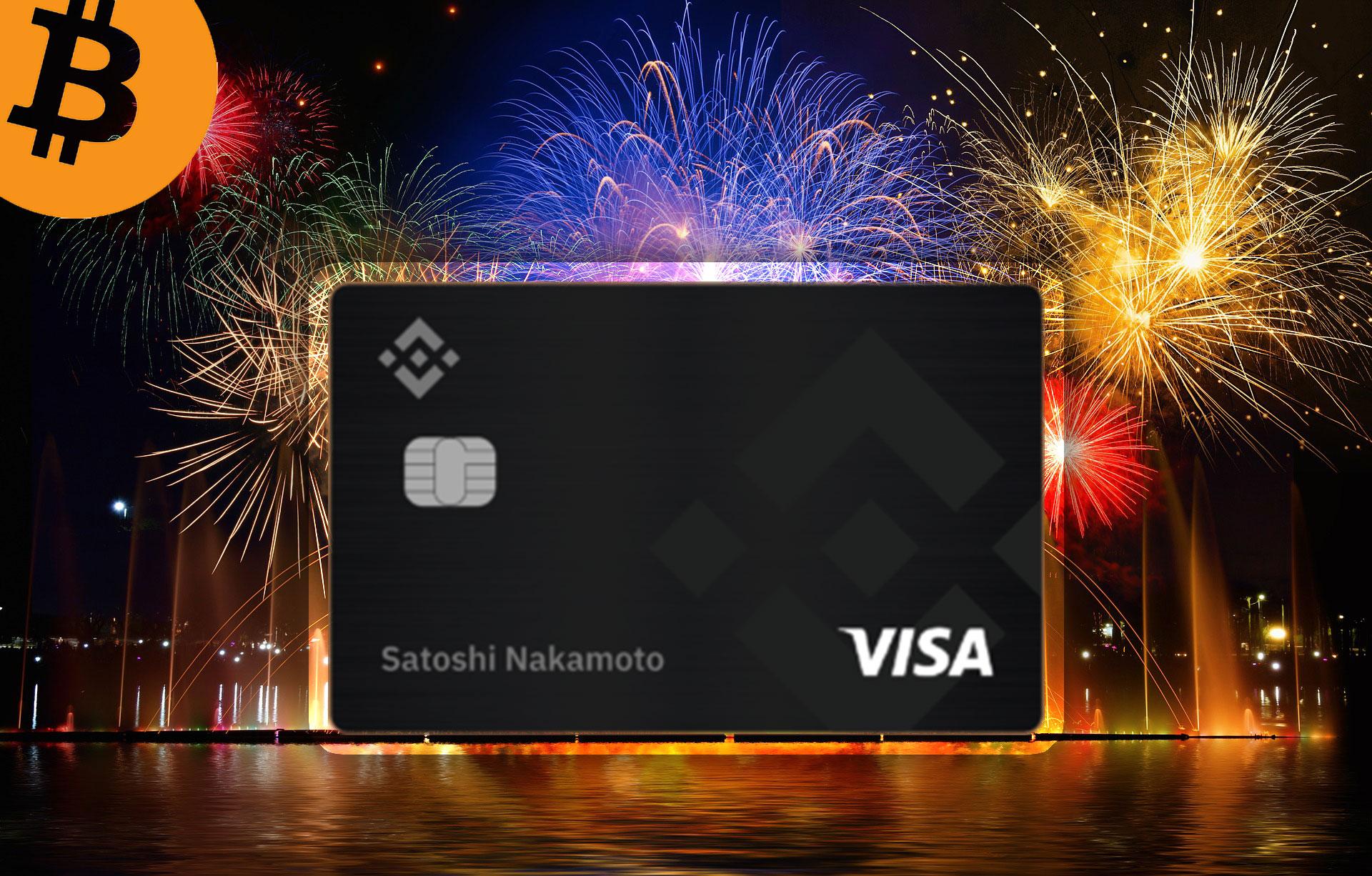Binance、VISA発行の仮想通貨対応デビットカード「Binance Card」ローンチ!
