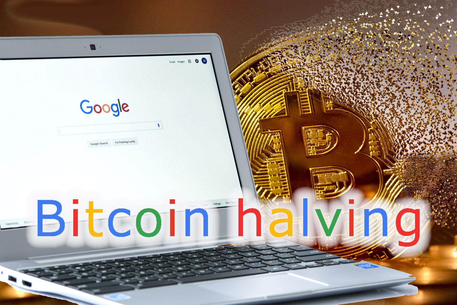Google検索数で「ビットコイン 半減期」が2016年を抜いて過去最高に!