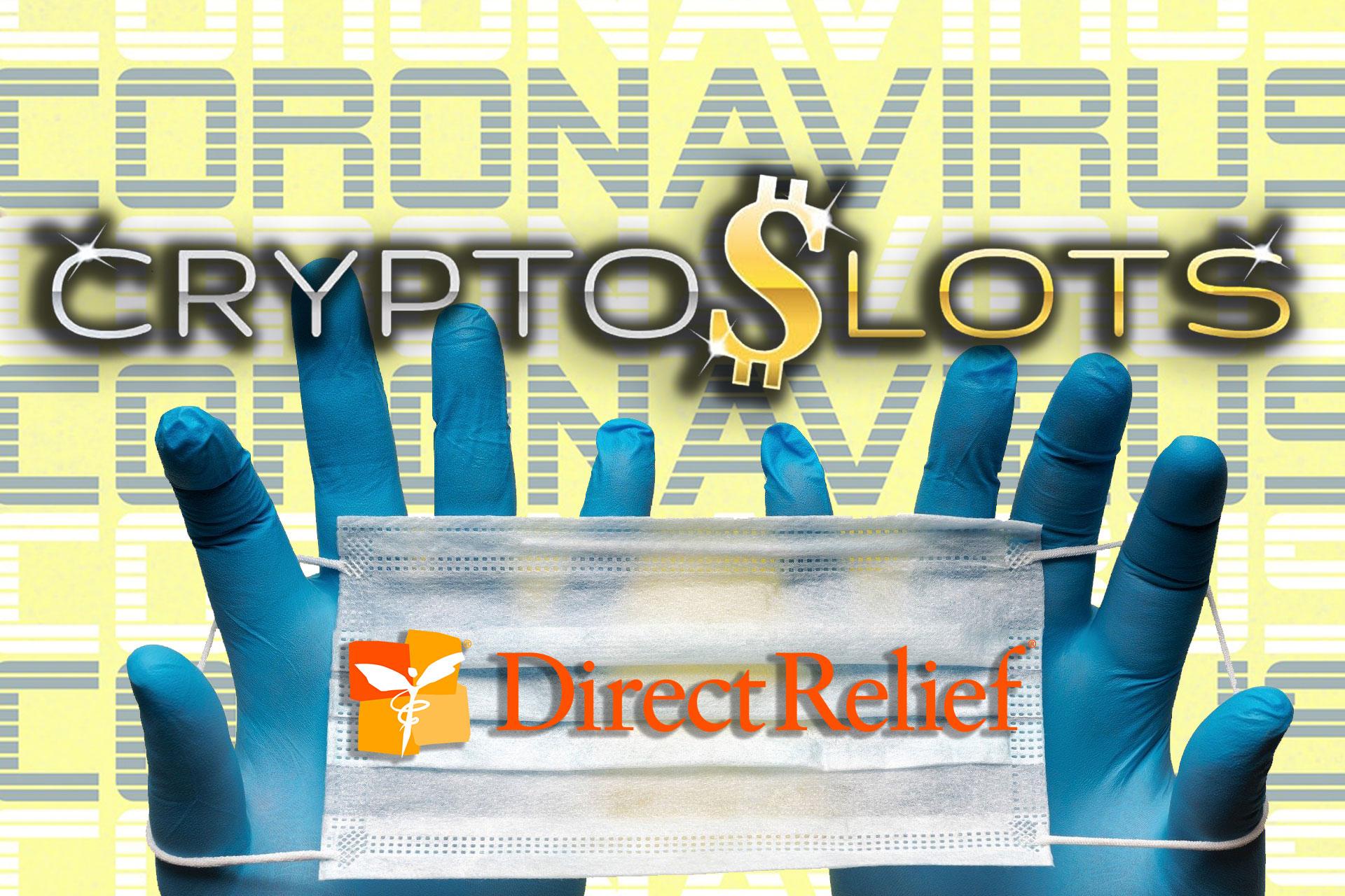 CryptoSlots、リリースした新機種の全収益をコロナと戦う医療従事者を支援する慈善団体に寄付