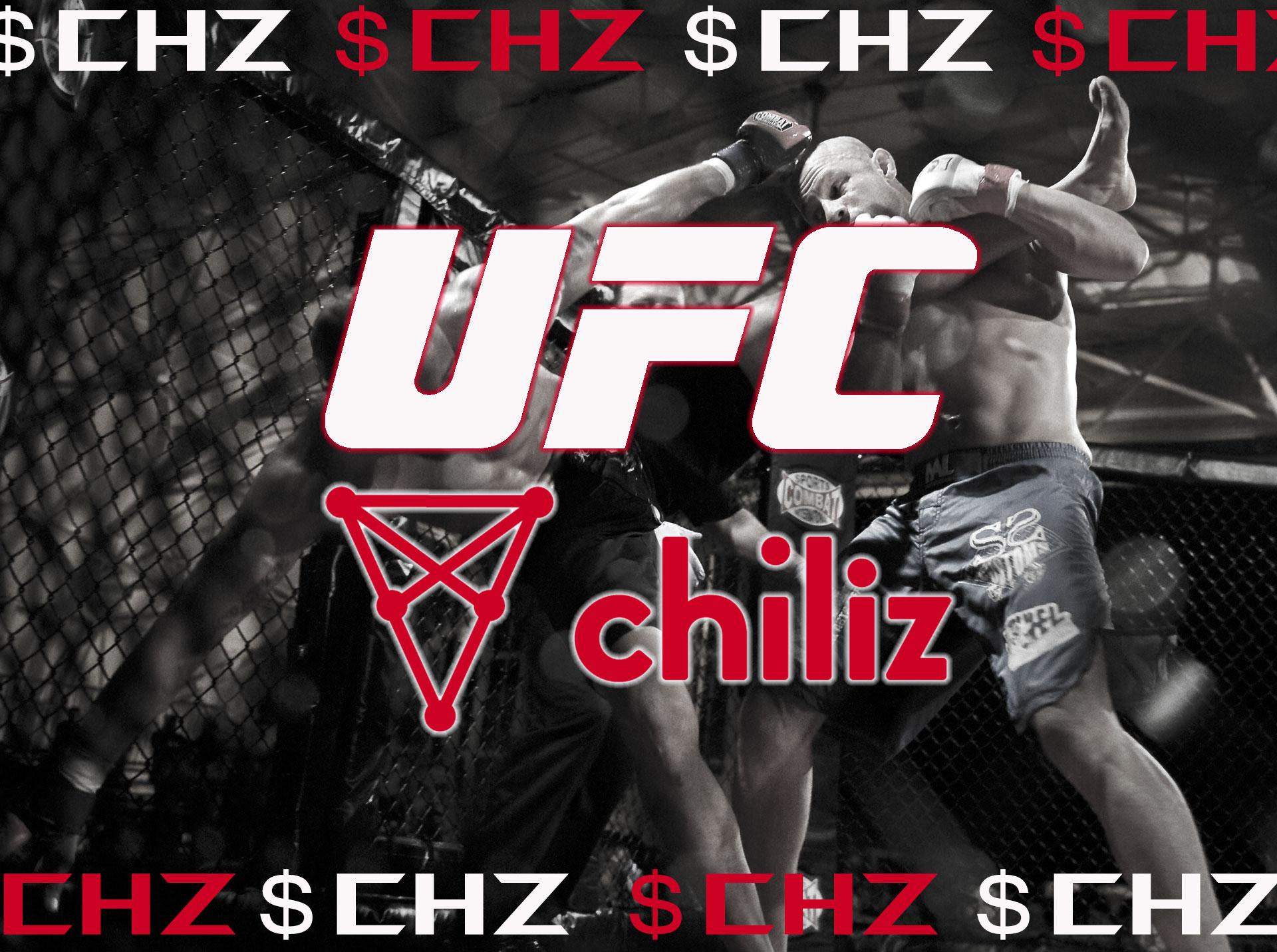 チリーズが総合格闘技団体「UFC」と提携!ファントークンで様々なサービスを展開