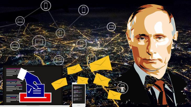 ロシアでブロックチェーンによる国民投票、プーチン大統領の続投へ