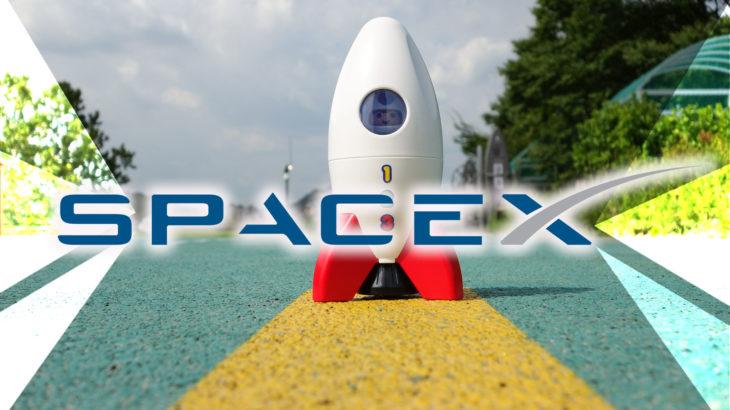 イーサリアム上の仮想世界Decentralandで、スペースXの打ち上げイベントを開催