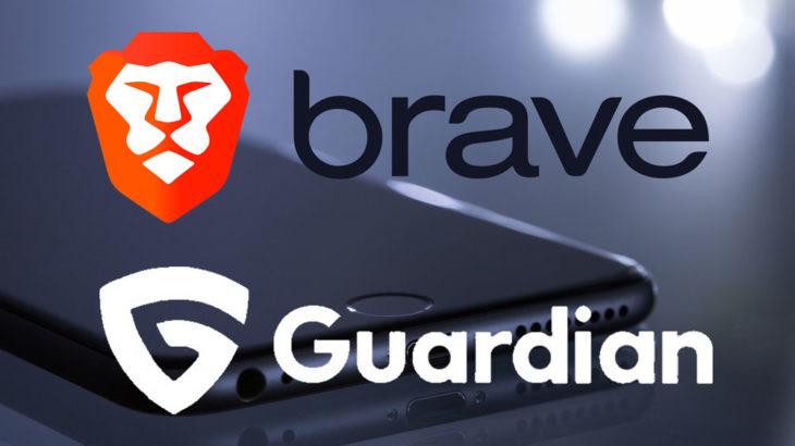 BraveがGuardianと提携、新たなiOS向けファイアウォールとVPNをリリース