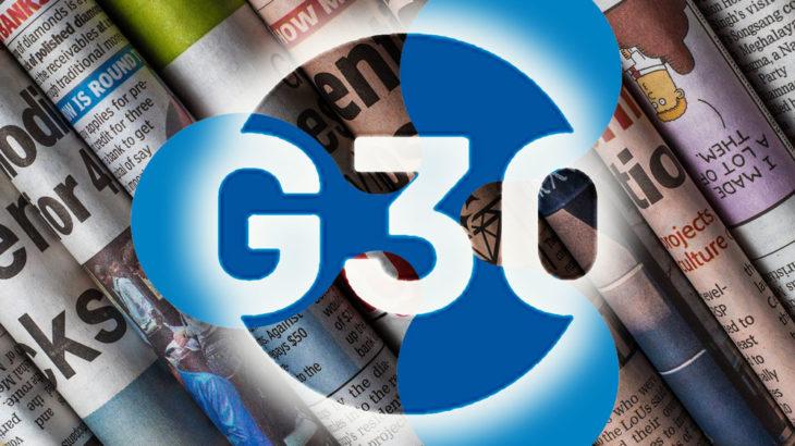 G30、デジタル通貨に関するレポート「デジタル通貨とステーブルコイン」を発表!