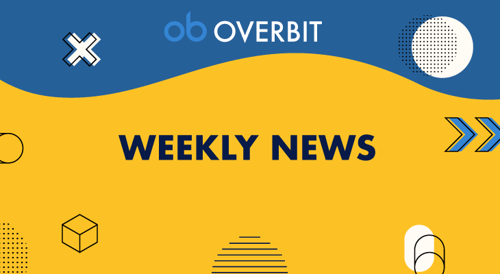 『Weekly News』仮想通貨市場の価格の動きに重点を置いて解説:Overbit