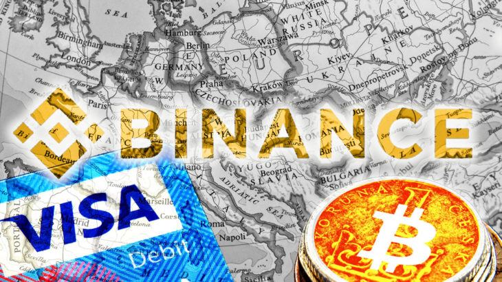 Binanceの暗号資産対応Visaデビットカードがヨーロッパ全域で使用可能に
