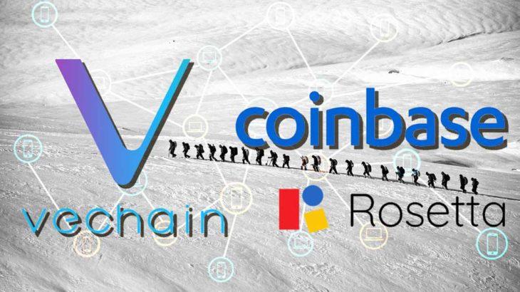 VeChainはCoinbase標準を採用してブロックチェーンの採用を促進!