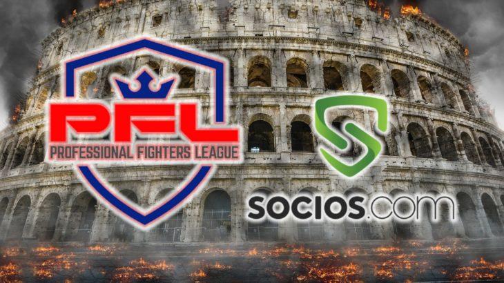 Socios.Comが総合格闘技団体PFLと提携、ファントークン発行へ