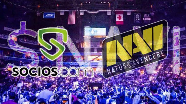 ウクライナ、eスポーツチーム「NatusVincere」公式ファントークン「$NAVI」を発行!