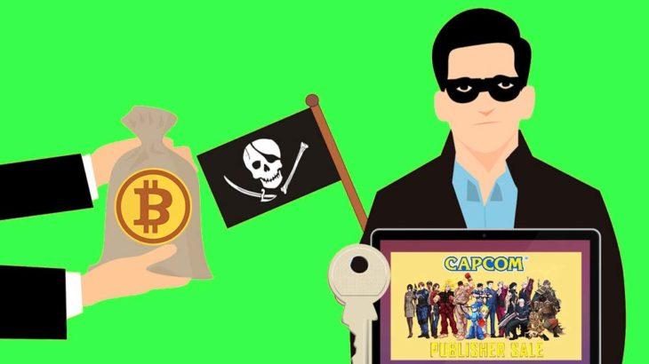 サイバー犯罪集団、カプコンにサイバー攻撃を仕掛けビットコインを要求!