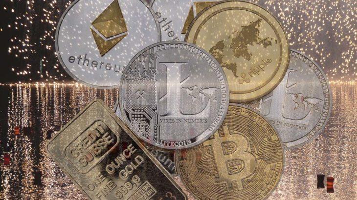 世界の仮想通貨時価総額、初の100兆円突破!