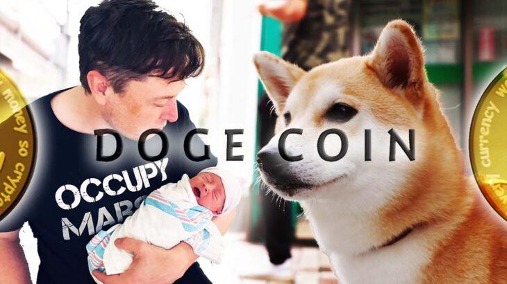 イーロン・マスク氏が生後9か月の息子に仮想通貨ドージコイン(DOGE)を購入!